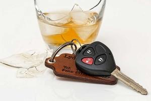 Alkohol am Steuer erhöht das Unfallrisiko