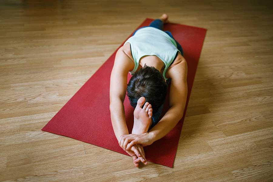 Yoga wirkt gegen Depression
